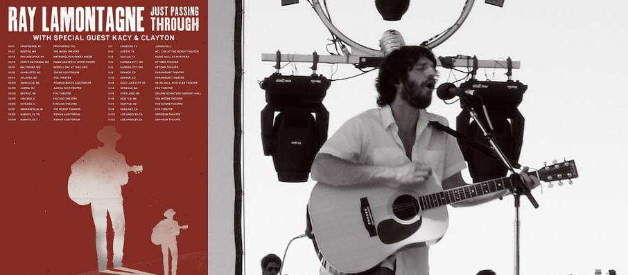 Ray LaMontagne at Orpheum Theater