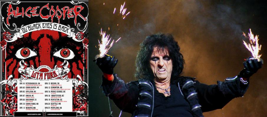 Alice Cooper at Orpheum Theater