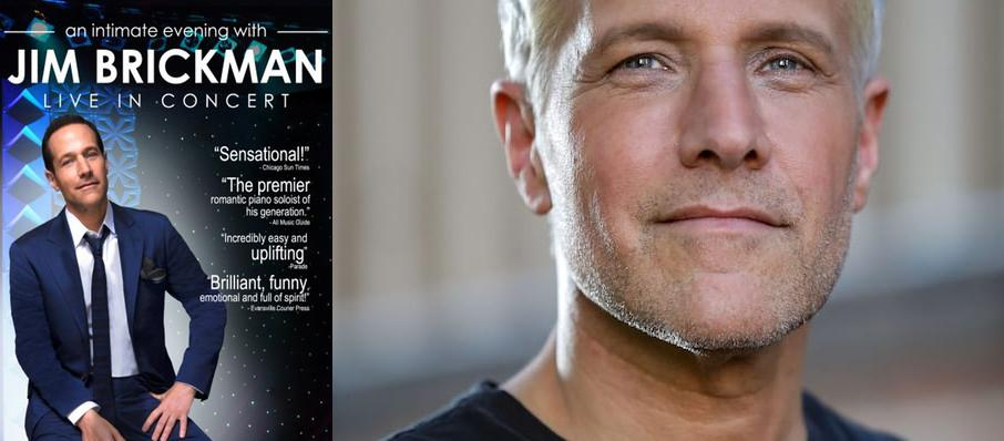 Jim Brickman at Orpheum Theater