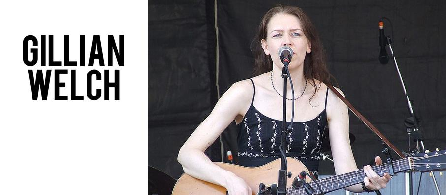 Gillian Welch at Germantown Performing Arts Centre