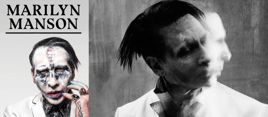 Marilyn Manson at Cannon Center For The Performing Arts