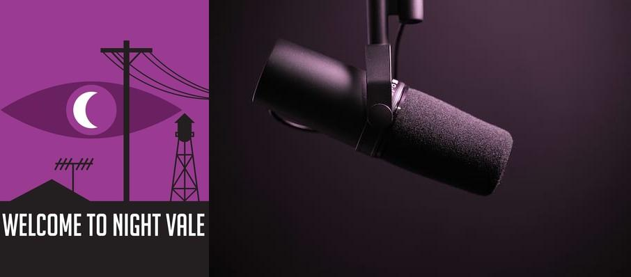 Welcome To Night Vale at Germantown Performing Arts Centre