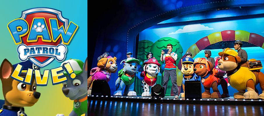 Paw Patrol at Cannon Center For The Performing Arts