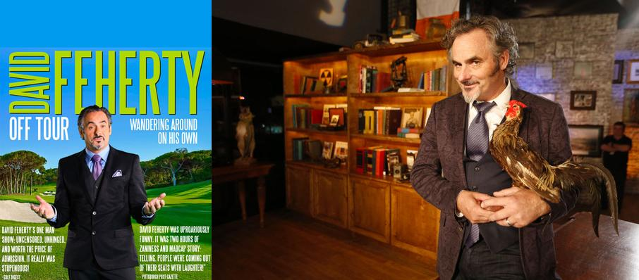 David Feherty at Orpheum Theater
