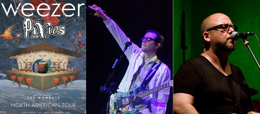 Weezer and Pixies at Fedex Forum