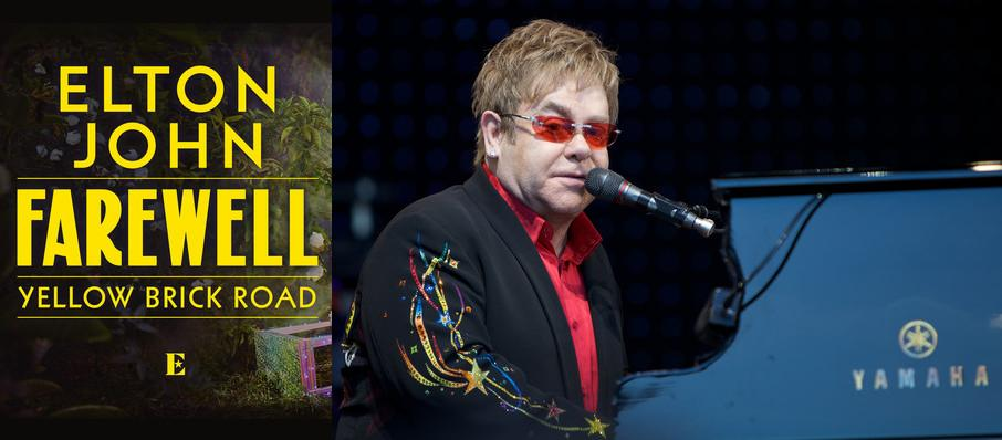 Elton John at Fedex Forum