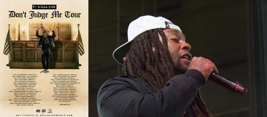 Ty Dolla Sign at New Daisy Theatre