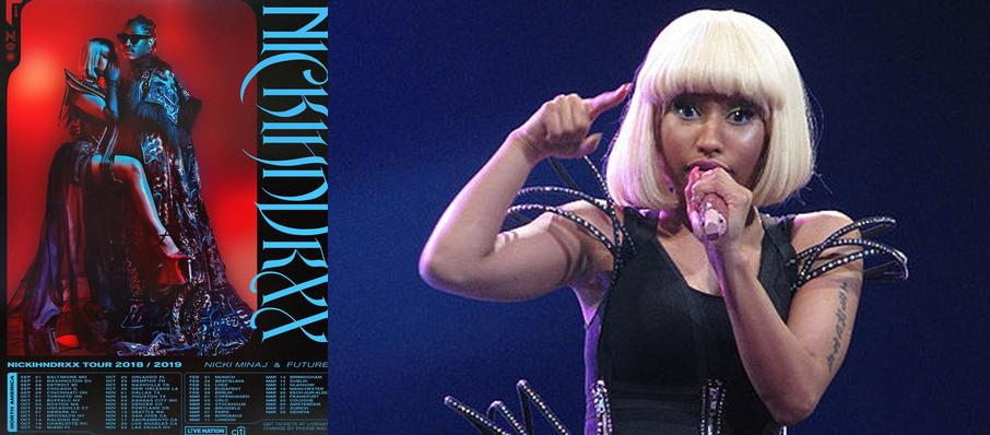 Nicki Minaj with Future at Fedex Forum