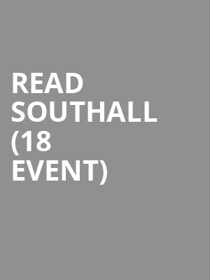 Read Southall (18+ Event) at 1884 Lounge