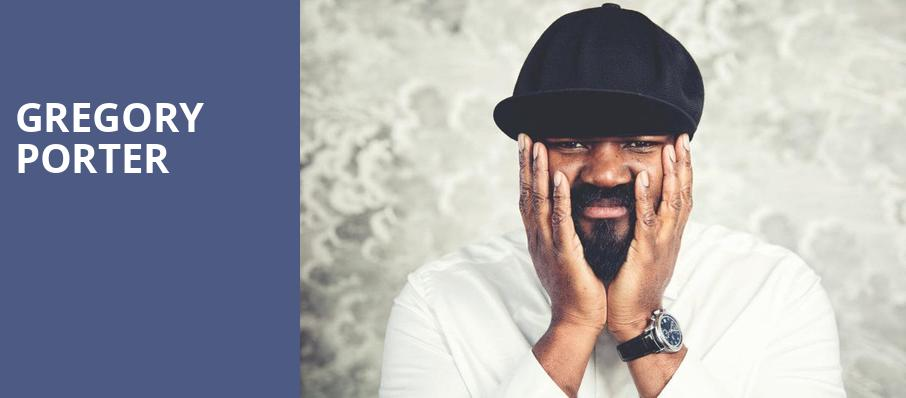 Gregory Porter, Germantown Performing Arts Centre, Memphis