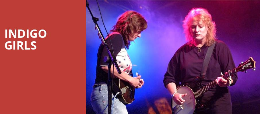 Indigo Girls, Germantown Performing Arts Centre, Memphis