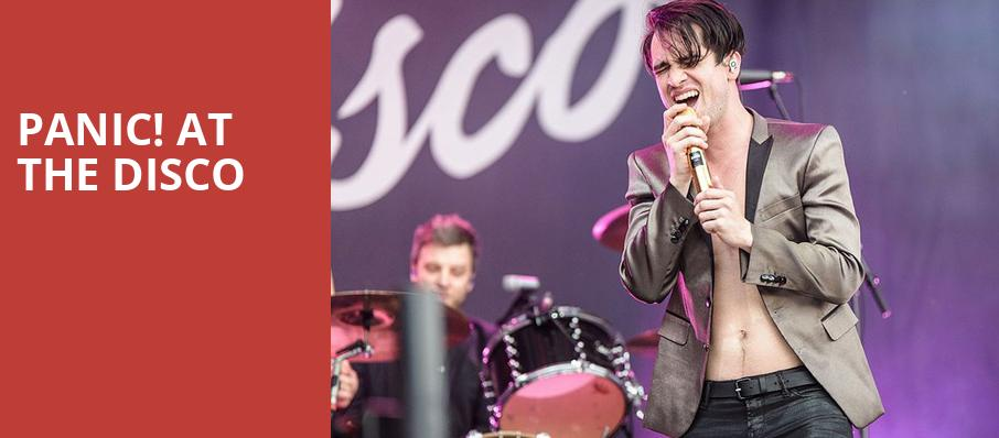 Panic at the Disco, Fedex Forum, Memphis