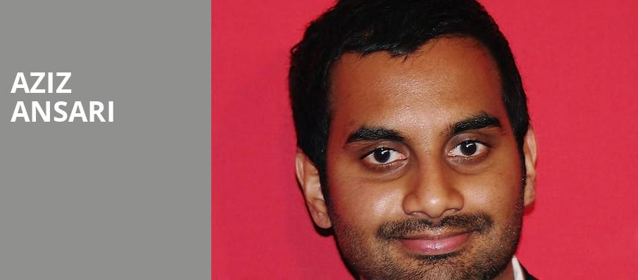 Aziz Ansari, Cannon Center For The Performing Arts, Memphis